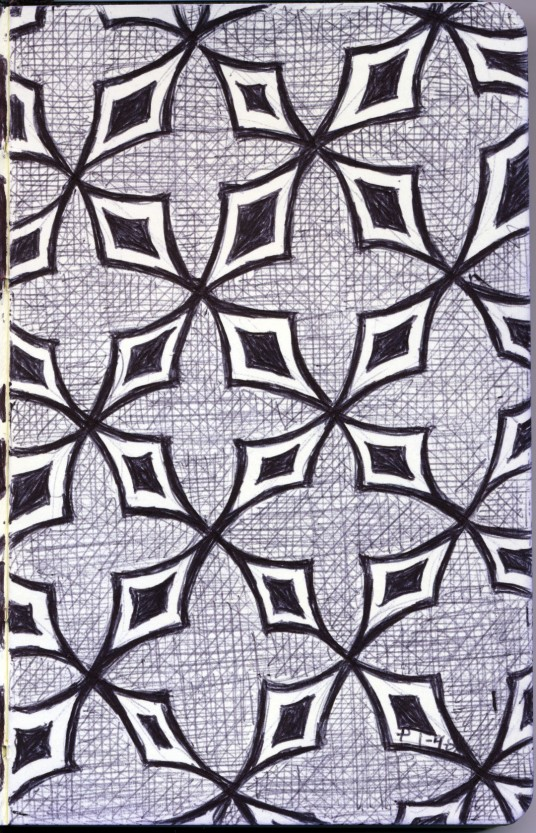 untitled moleskine pattern