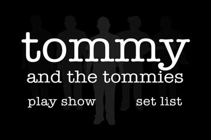 tommy and the tommies dvd