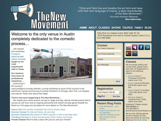The New Movement Theater